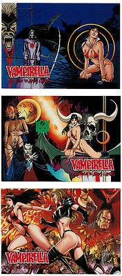 Breygent All New Vampirella 2012 Fiends Gallery 3 Card Chase Set V2-FG1 - V2-FG3
