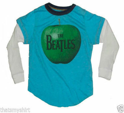 New Authentic Rowdy Sprout The Beatles Apple Vintage Style 2fer Shirt