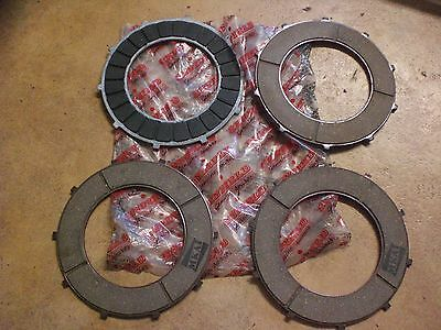 4 Disques D' Embrayage Neuf Royal Enfield Ref 597050