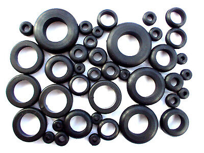 WIRING GROMMETS.  40 Mixed Pack ..Sizes 6mm to 24mm