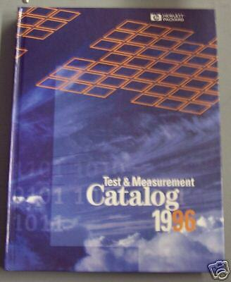 1996 Hewlett Packard Test & Measurement Catalog