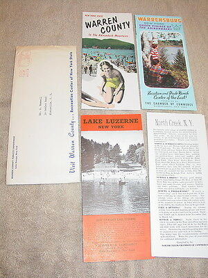 Vintage Warren County New York State Brochure Package