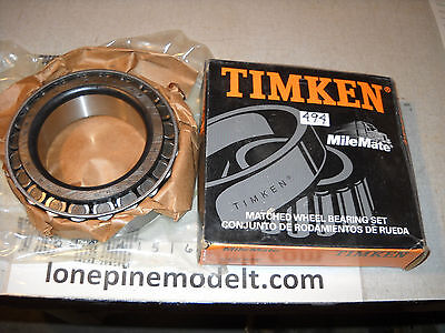 Semi trailer axle Timken wheel bearing set 415