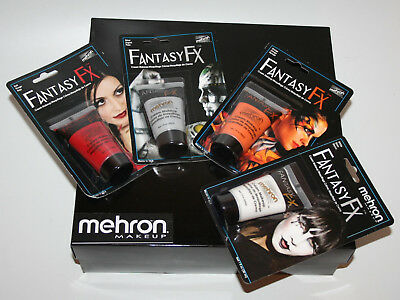 Mehron Fantasy FX tube makeup water based cream face paint theater costume stage