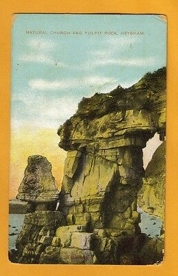 Natural Church & Pulpit Rock, Heyshaw, Smedekerville, P A, 1923