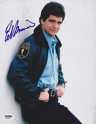 ED MARINARO SIGNED 8x10 Photo Joe Coffey Hill Street Blues