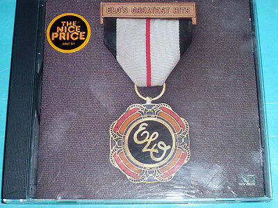 ELO's Greatest Hits by Electric Light Orchestra (CD, Jul-1986, Jet Records)