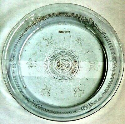 VINTAGE FIRE KING GLASS PIE PAN PLATE 9 1/2""
