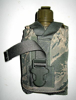 NEW ABU Air Force Digital Camo Canteen General Purpose Pouch with 1 QT Canteen