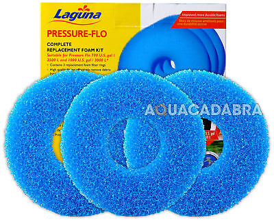 Laguna Pressure Flo 2500 3000 Filter Foam Kit Set Pt1501 Pf2500 Pf3000