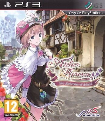 Atelier Rorona The Alchemist Of Arland PS3 * NEW SEALED PAL *