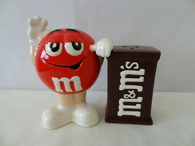 Benjamin & Medwin Mar'S Red M&m With Box Salt And Pepper #e374