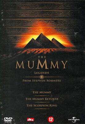 The Mummy Legends From Stephen Sommers - 3 Dvd - Sealed