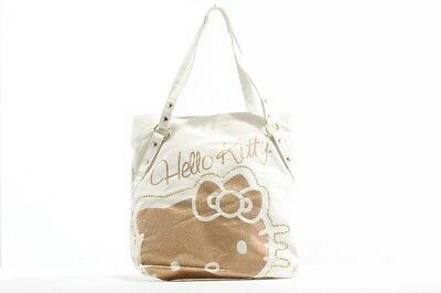 Hello Kitty Girl's Tote Kitty Rocks Natural Handbag