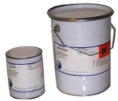 Kit de 4,6kg d'ENDUIT EPOXY  blanc