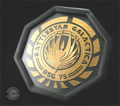 Battlestar Galactica BSG-75 Logo Coaster Set of 4- New in Box from QMX