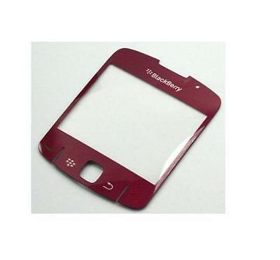 OEM NEW RED Screen Lens Replacement Glass Cover for Blackberry Curve 8520 8530