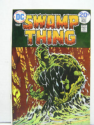 Swamp Thing  #9  DC Comic Book-Wrightson-  Hi Grade 1970s (L8105)