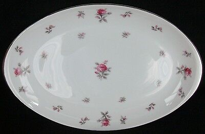 Meito Rosechintz Oval Serving Platter 15 3/4""