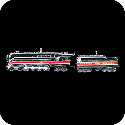 Hallmark Miniature 1999 746 Norfolk & Western #1 - Locomotive and Tender QXM4549