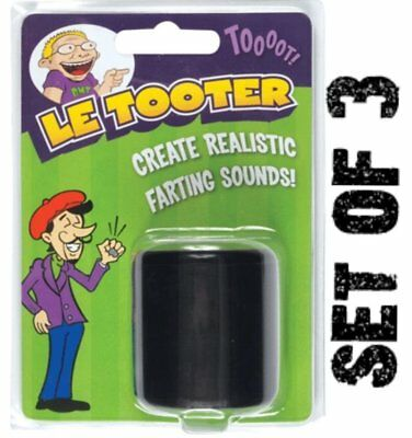 SET OF 3  -  Le Tooter - Same as the fart Pooter