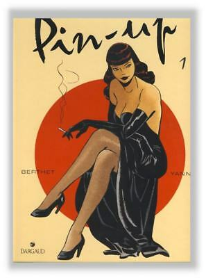 Berthet Yann Pin Up 1 Tirage Presse EO Rare