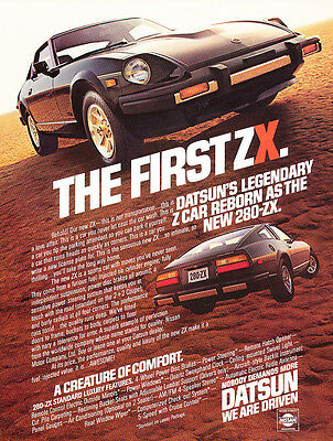 1979 Datsun 280ZX - intro - Classic Vintage Advertisement Ad H17