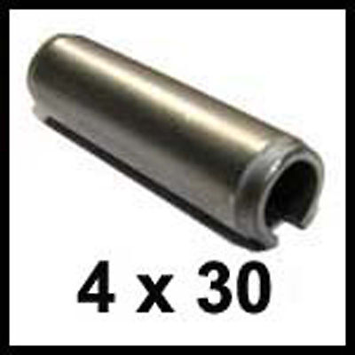 4mm x 30mm Stainless Steel Roll Pins 4 x 30 Spring Pins x25