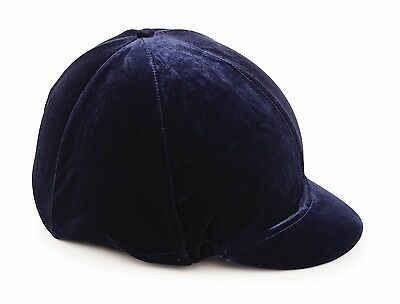 Shires riding skull hat helmet velveteen cover navy, black, brown