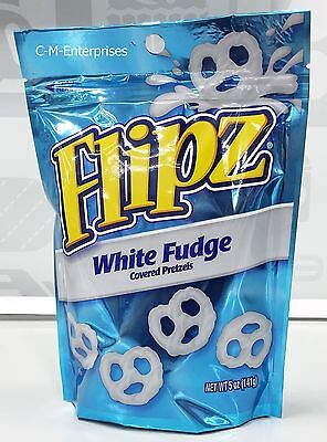 Nestle Flipz White Fudge Covered Pretzels 5 oz