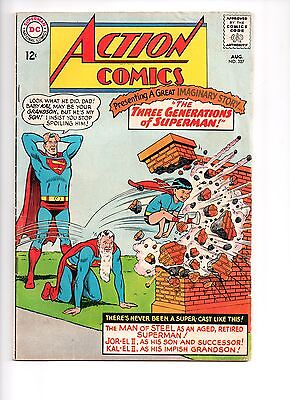 Action Comics 327 - Vg+ 4.5 - Superman  (1965)