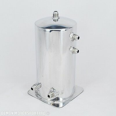 4 Litre Dome Alloy Fuel Surge Tank / Swirl Pot An8 -8 Polished (Clearance)