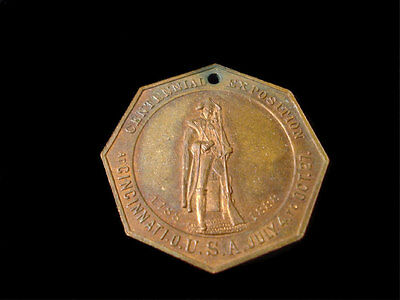 1888 Ohio Valley And Central States Centennial Exposition Copper Medal
