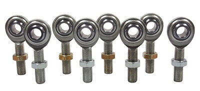"""CM-6 ENDS 4-LINK KIT 3//8/""""-24 THREAD, ROD END 4LH // 4RH HEIM JOINT JOINTS"""