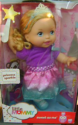 Little Mommy Sweet As Me Princess Sparkle Doll *new*