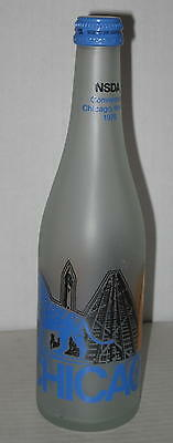 1976 NSDA Soda Bottlers Convention Table Centerpiece Bottle Chicago IL