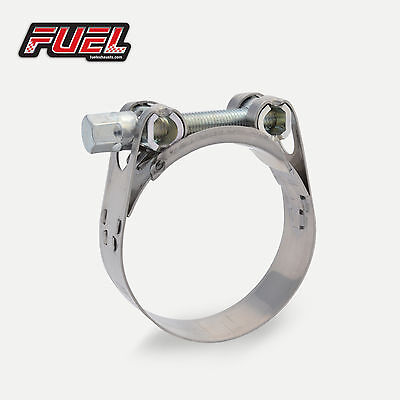 55-59mm Motorbike Exhaust Clamp Norma W2 Stainless Steel Clip, Bracket, Banjo