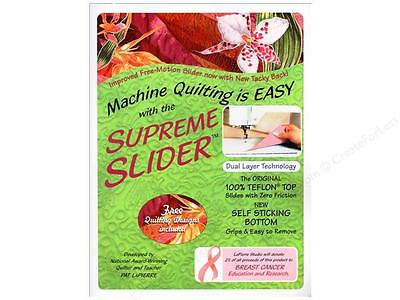 Free Motion SUPREME SLIDERfor all Sewing Quilting Machines by LaPierre Studios