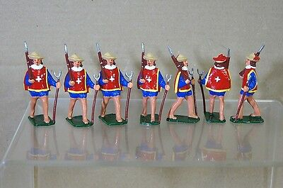 REPLICA MODELS PATRICK CAMPBELL FRENCH IMPERIAL MUSKETEERS MARCHING 58mm RED mv