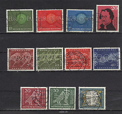 B6738 - Germania Rep. Federale - Annata 1960  - Lotto Usati Tematici Differenti