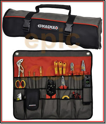 CK Tools MAGMA 30 Tool,Plier,Screwdriver Pocket Roll Bag/Case/Pouch MA2718, NEW