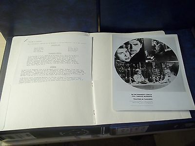 """1960 """"Trapped in Tangiers"""" Seven Arts Movie Press Kit"""