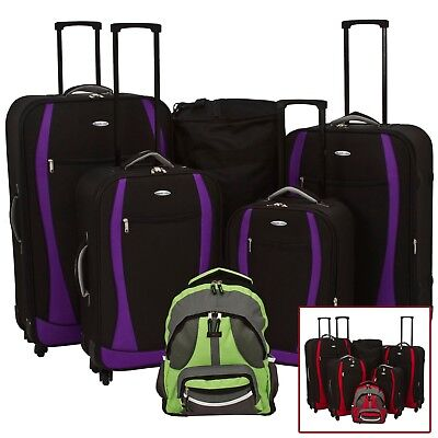 Single Or Set Designer Expandable 4 Wheel Spinner Travel Light Quality Luggage