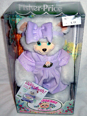 Briarberry Collection Berrybeth Bear Fisher Price MIB 1998 Stuffed Toy Doll RARE