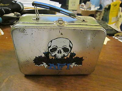 Afi A Fire Inside Signed Lunch Box