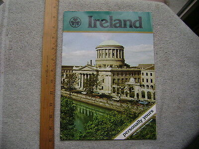 Ireland. Personally Yours. 1976 16 page Vacation Planner Booklet.