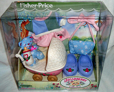 Briarberry Collection Baby Care Set Furniture Bear Fisher Price MIB 2000 Toy