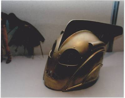 FORREST J ACKERMAN COLLECTION - 8 x 10 color photo of Rocketeer helmet