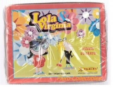 Lola & Virginia Box 50 Bustine Figurine Panini