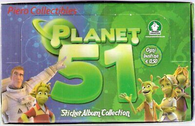 Planet 51 Box 40 Bustine Figurine Preziosi Collection